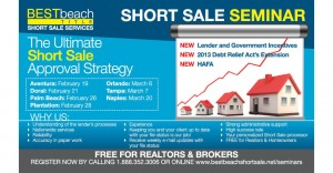Best Beach Short Sale Postcard Design