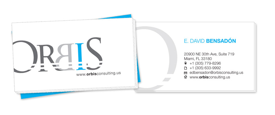 Orbis Business Cards