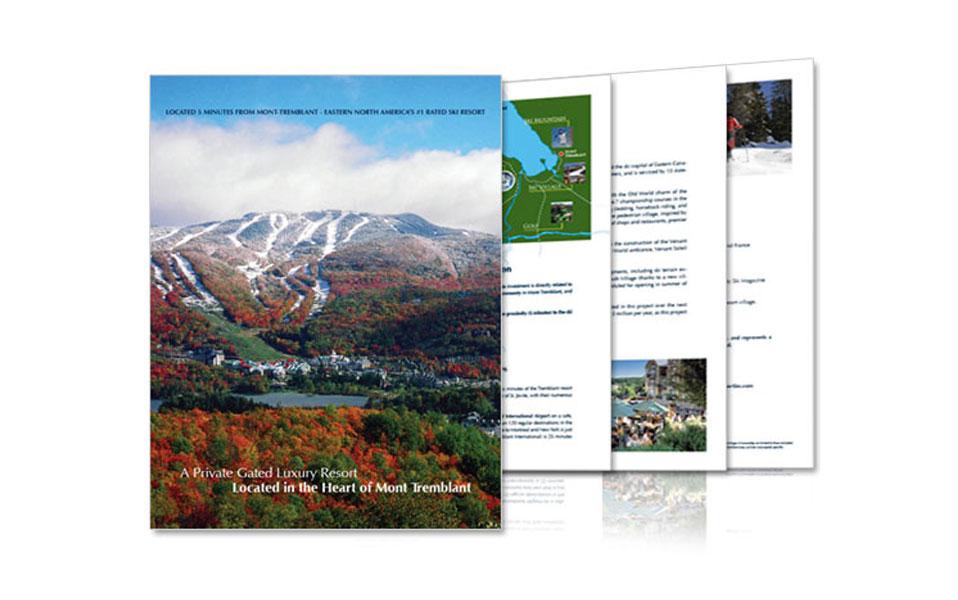 La Grande Foret Brochure Design