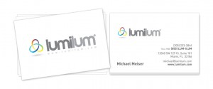 Lumilum Business Cards