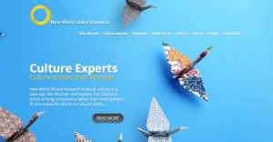 New World Global Research Web Design