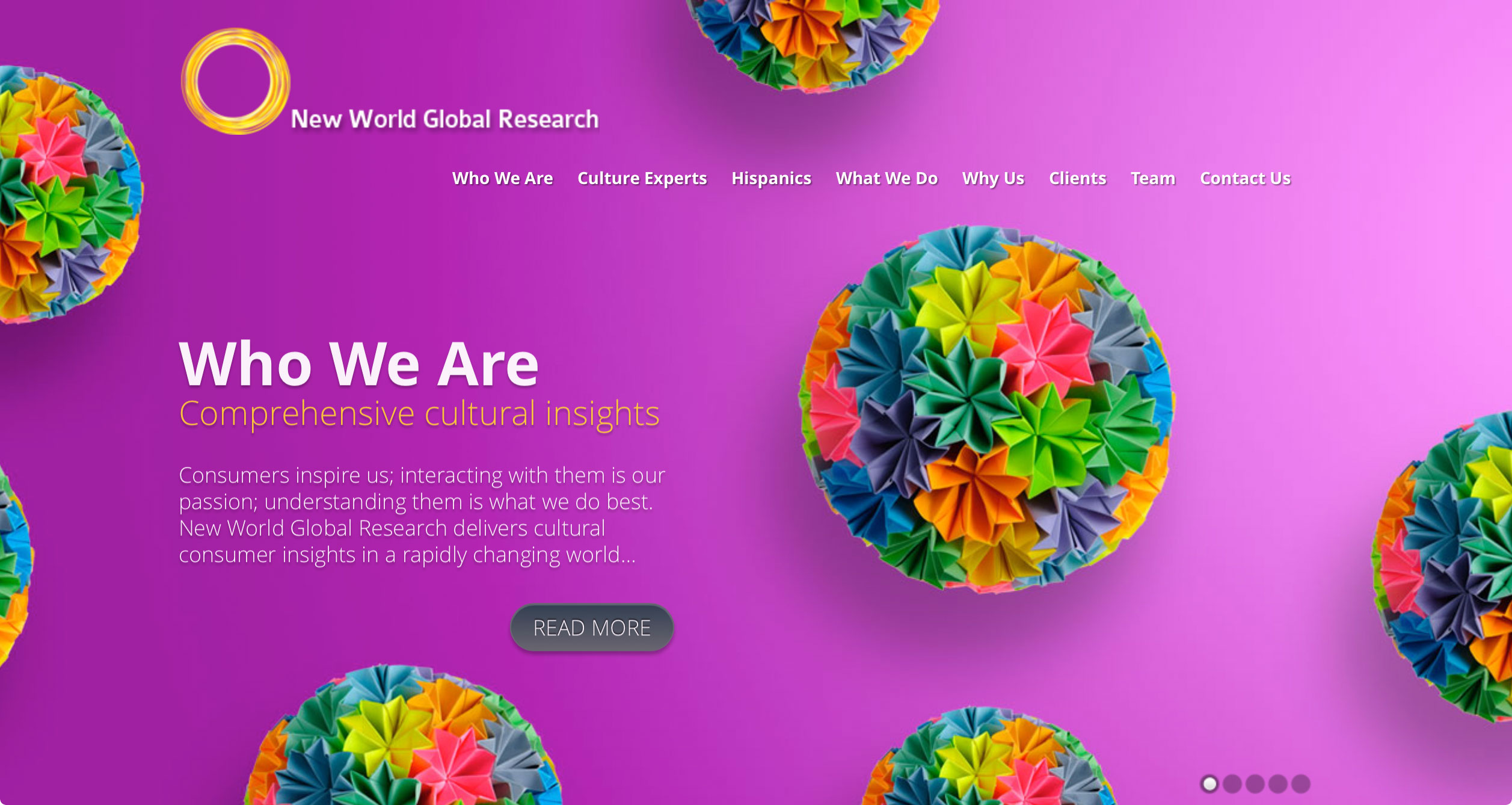 New World Global Research - Web Design