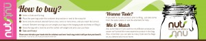 Nuts Nuts Banner Design
