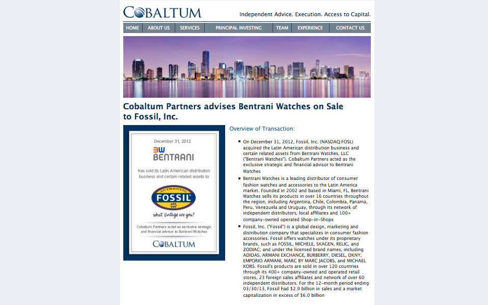 Cobaltum Partners