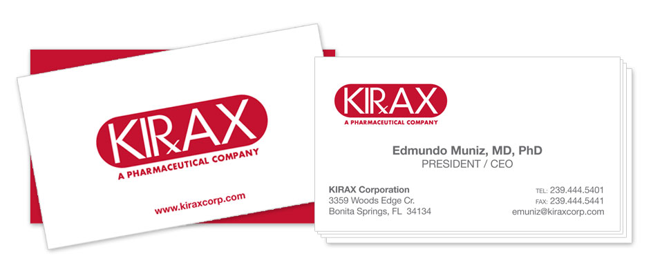 KIRAX Corporation A PHARMACEUTICAL COMPANY