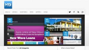 M&O's new Website Design