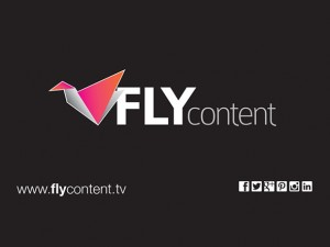 Fly Content - Business Card Design