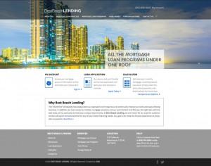 Best Beach Lending - New Web Design