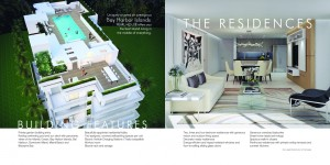 Pearl House Brochure Design