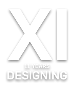 We are celebrating 11 years designing and much more