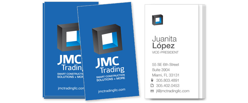 JMC Trading - Business Card Design by M&O