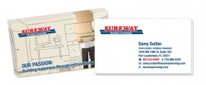 Sureway Moving - Business Card Design by M&O