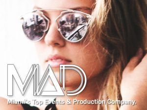 MAD Events Presents web design by M&O