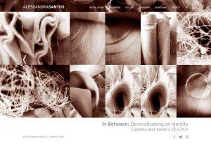 Alessandra Santos Webdesign by M&O