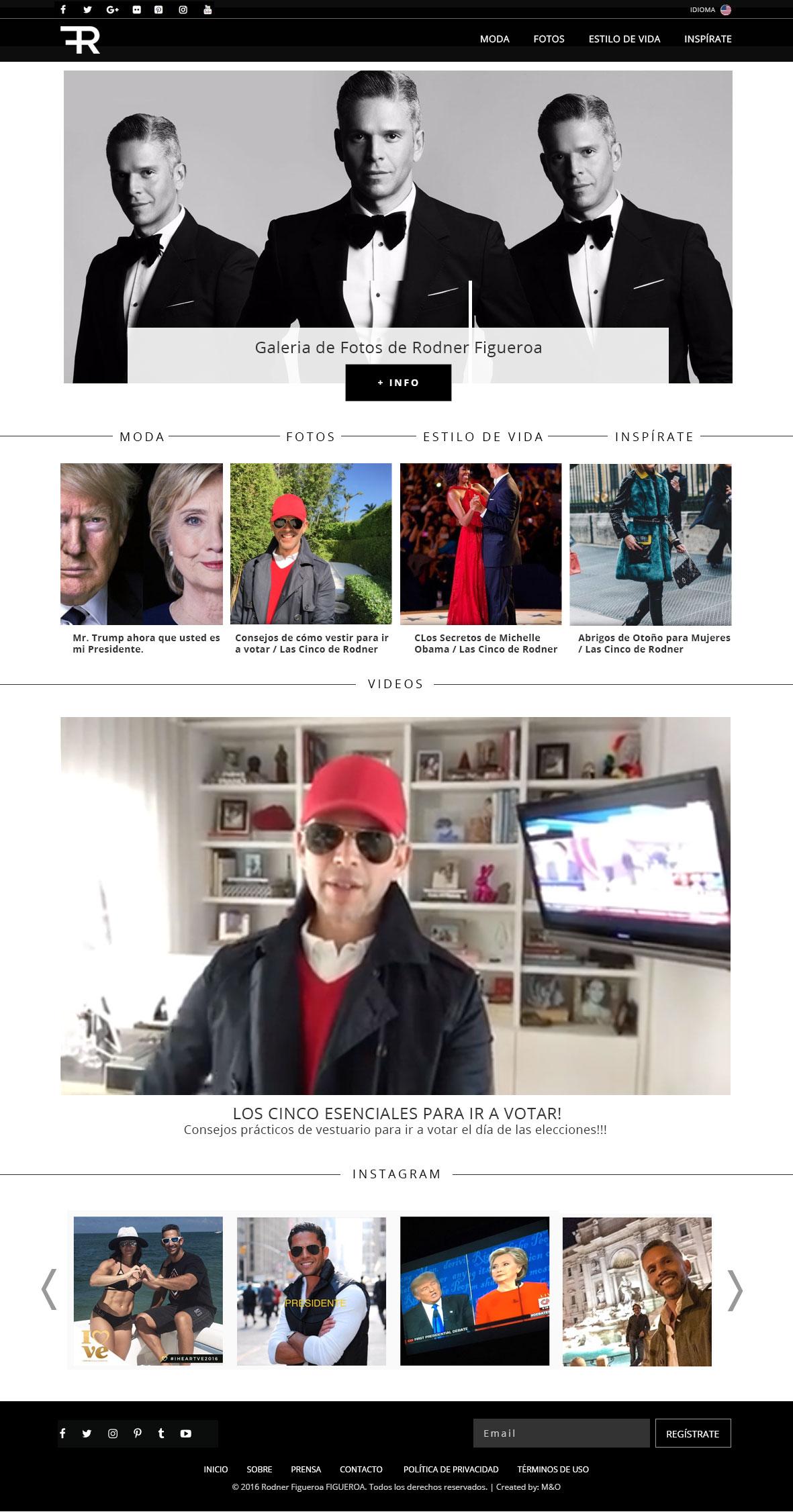 Rodner Figueroa Webdesign by M&O