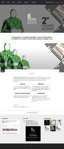 II Premio de Cuento Santiago Anzola Omaña - Website Design