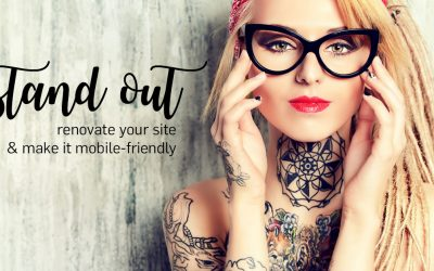 Stand Out! renovate your site & make it mobile-friendly