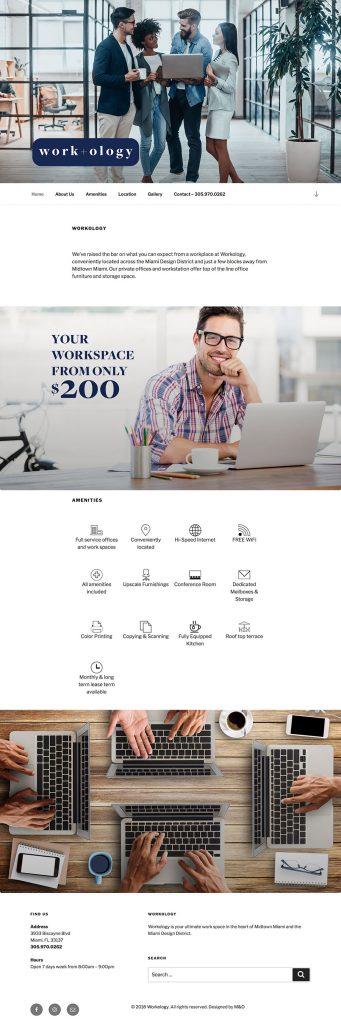 Workology - Web Designed by M&O