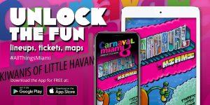 App Design for Carnaval Miami