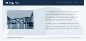Rivo Alto Web Design by M&O