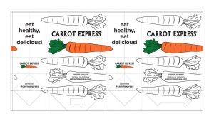 Bag Design for Carrot Express by M&O