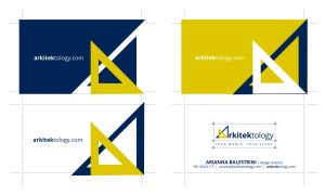 Arkitektology - Business Cards Design by M&O