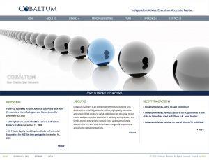 Cobaltum - Web Design by M&O