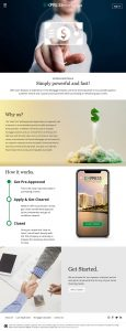 Express Mortgage - Web Design by M&O