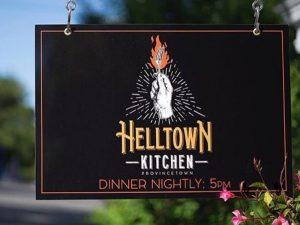 Helltown Kitchen - Web Design by M&O