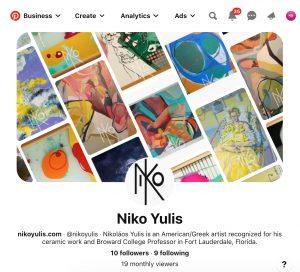 Niko Yulis - Pinterest by M&O